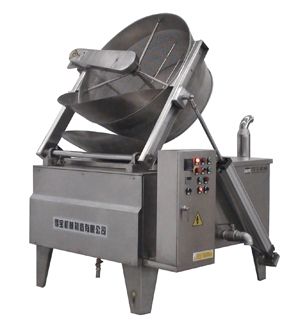 Gas, LPG, diesel Batch fryer